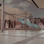 muzeum sztuki współczesnej - sala ekspozycyjna nr1