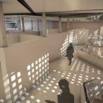 muzeum sztuki współczesnej - sala ekspozycyjna nr2