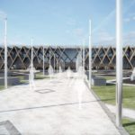 terminal lotniczy - główne wejście