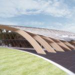 terminal lotniczy - widok z płyty lotniska
