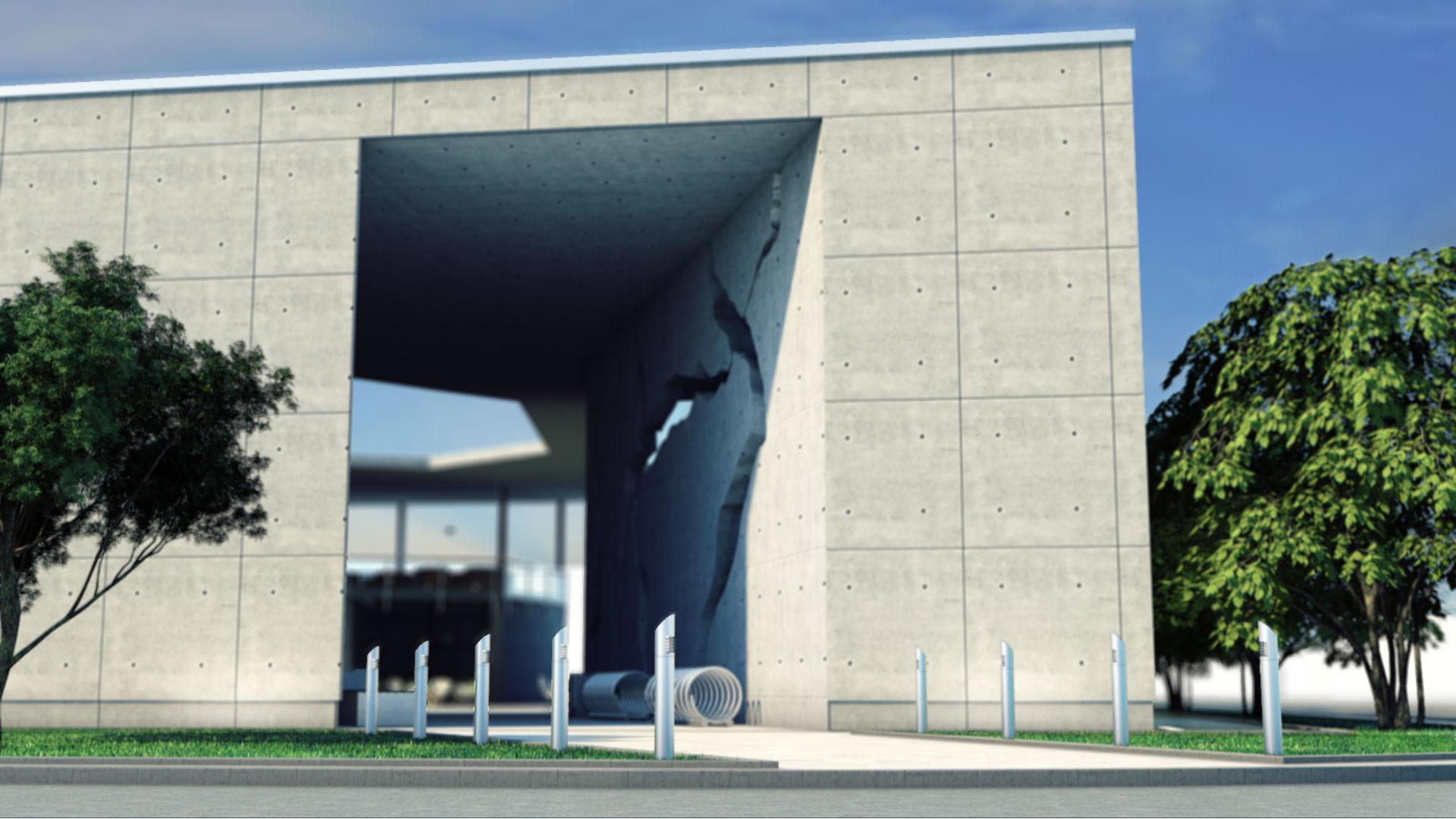 centrum szkoleniowe - strefa wejściowa