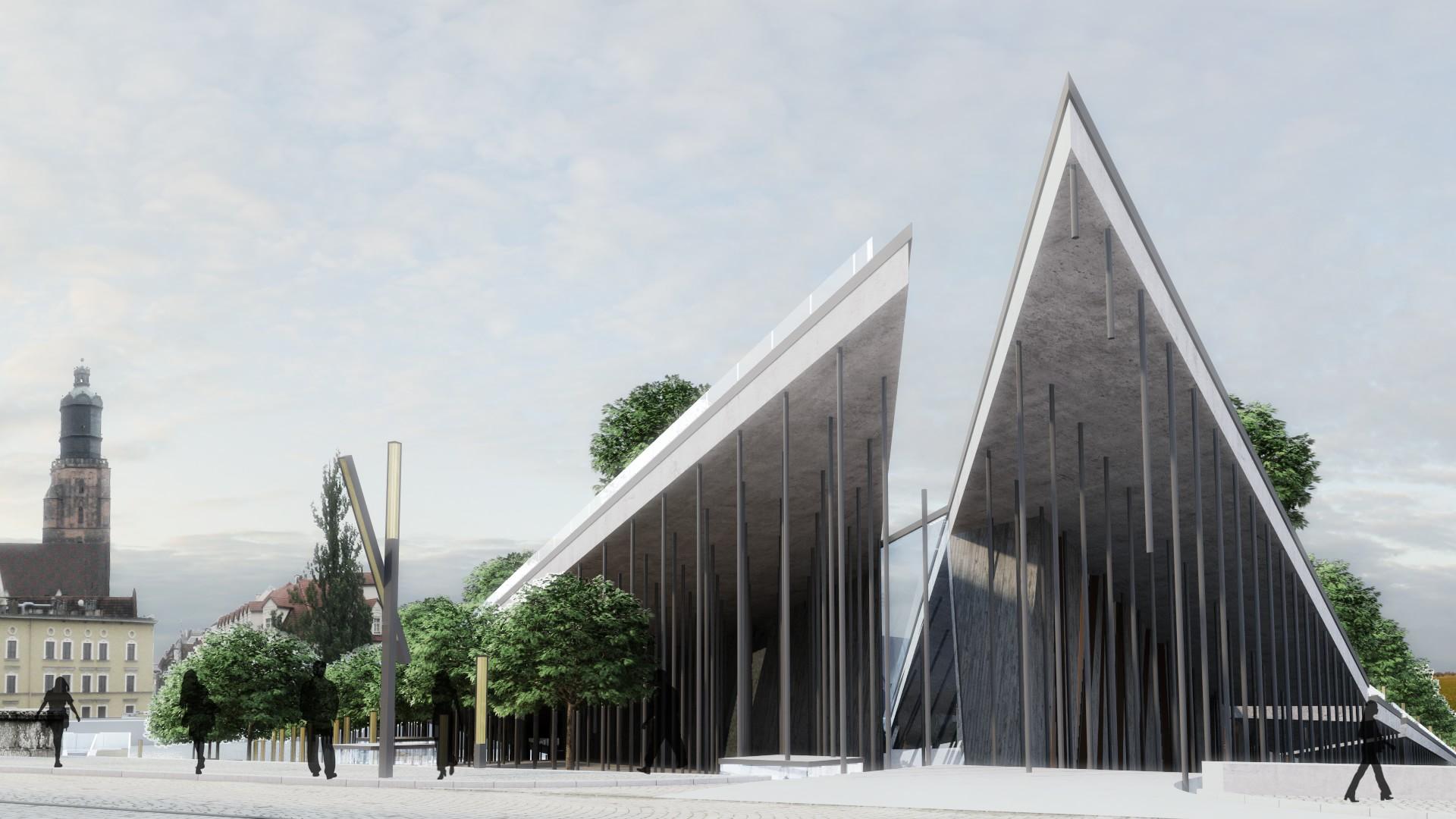muzeum żywiołów - strefa wejściowa