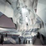 muzeum sztuki współczesnej - atrium